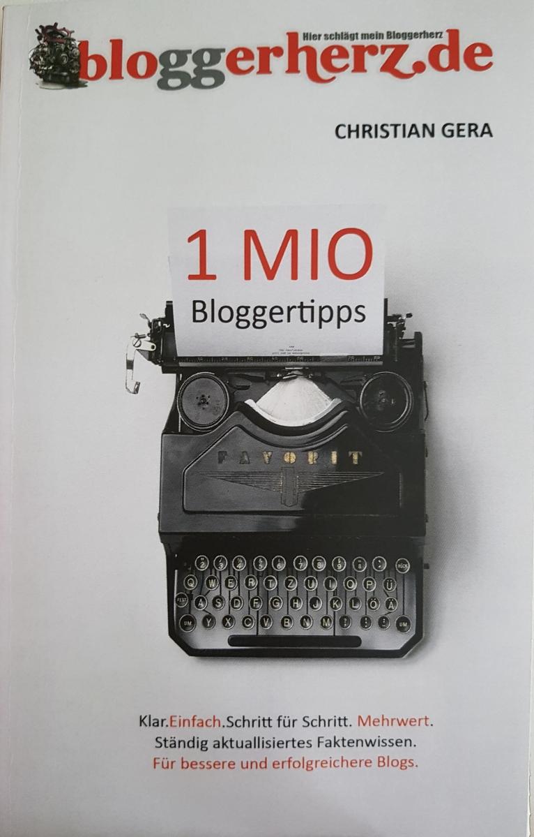 Rezension zu Bloggerherz 1 Mio Bloggertipps